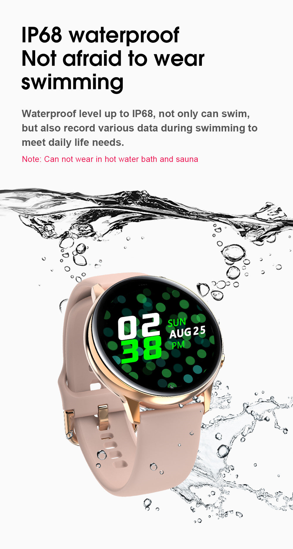 SG2 Smart Watch-detailed information17