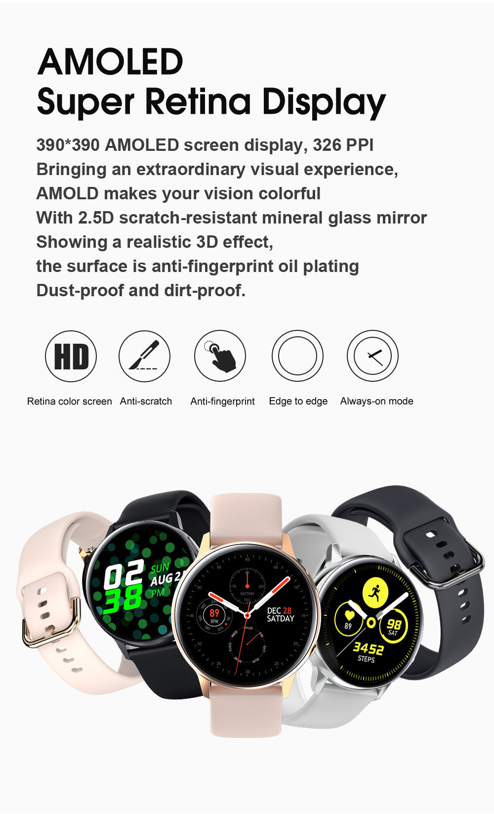 SG2 Smart Watch-detailed information2