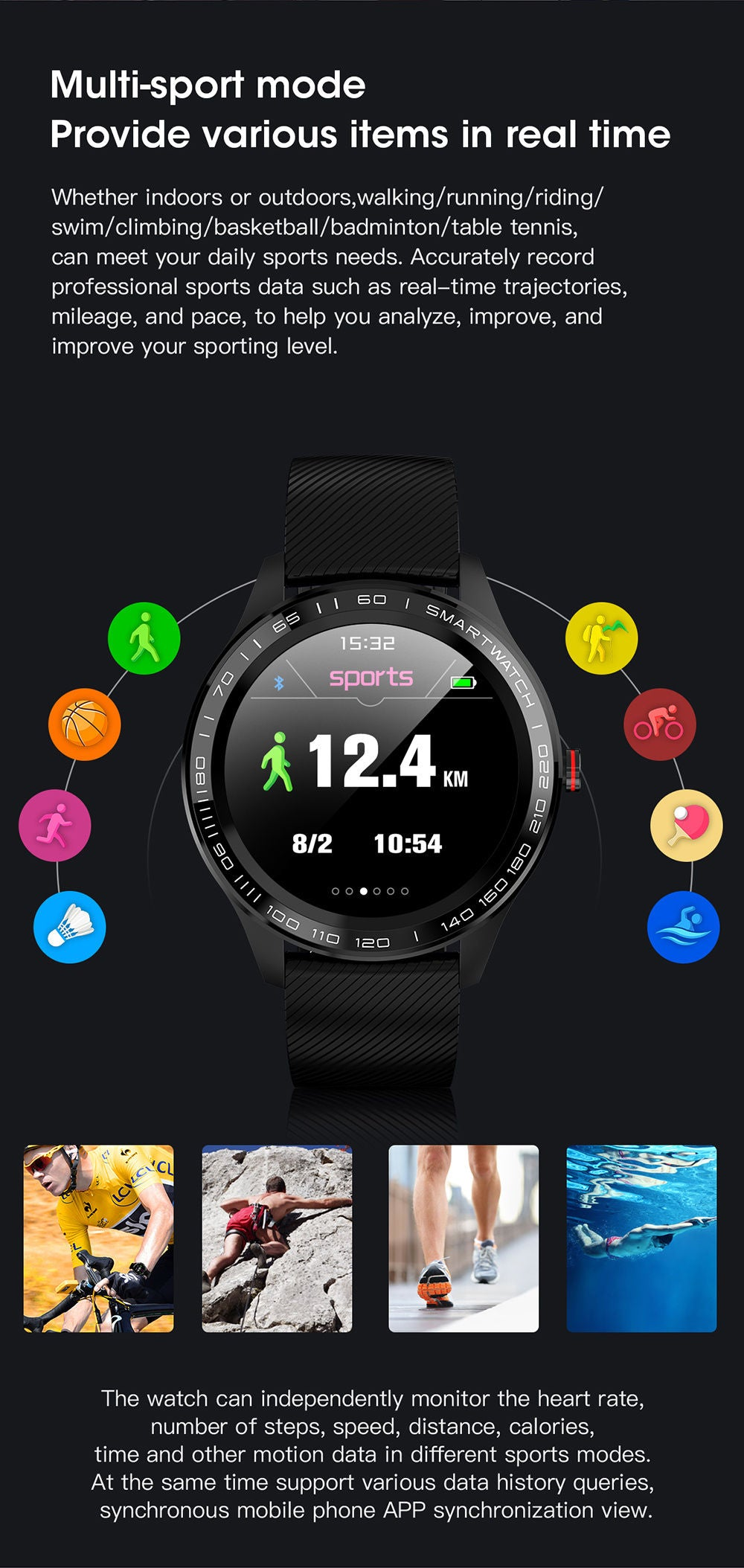 detailed description of L9 smart watch 10