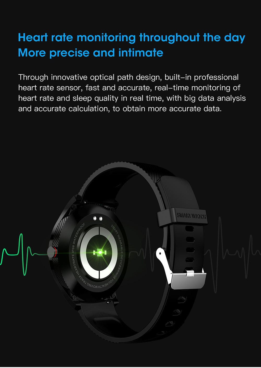 detailed description of L9 smart watch 12