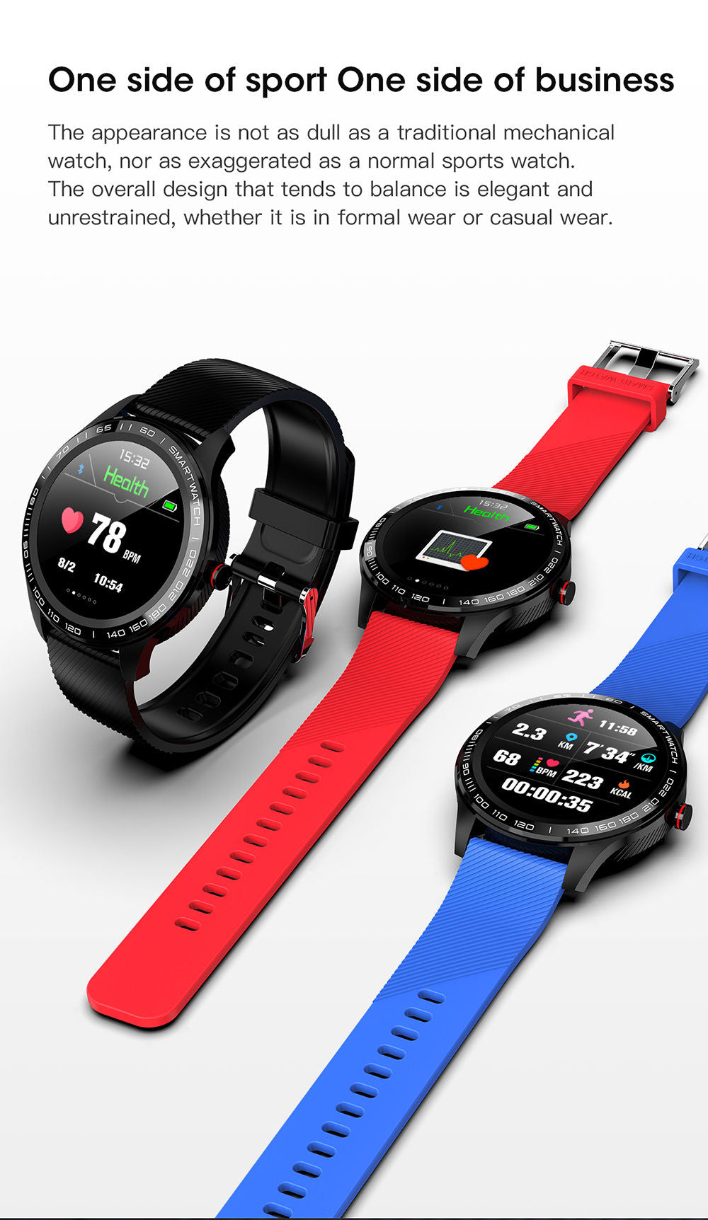 detailed description of L9 smart watch 13