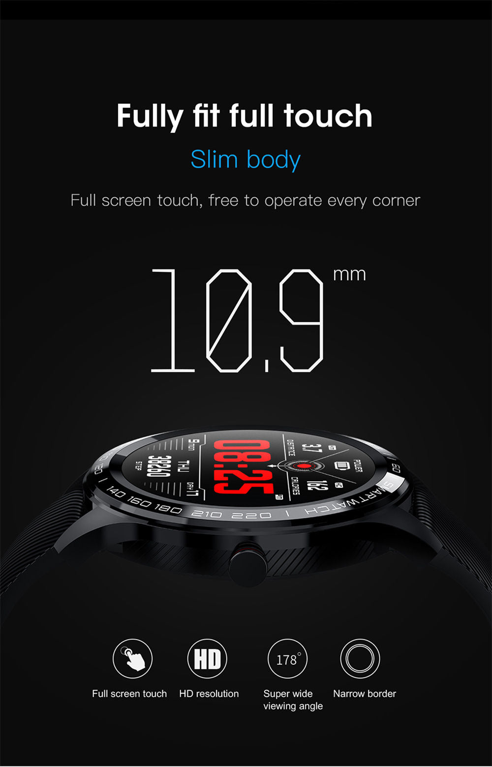 detailed description of L9 smart watch 5