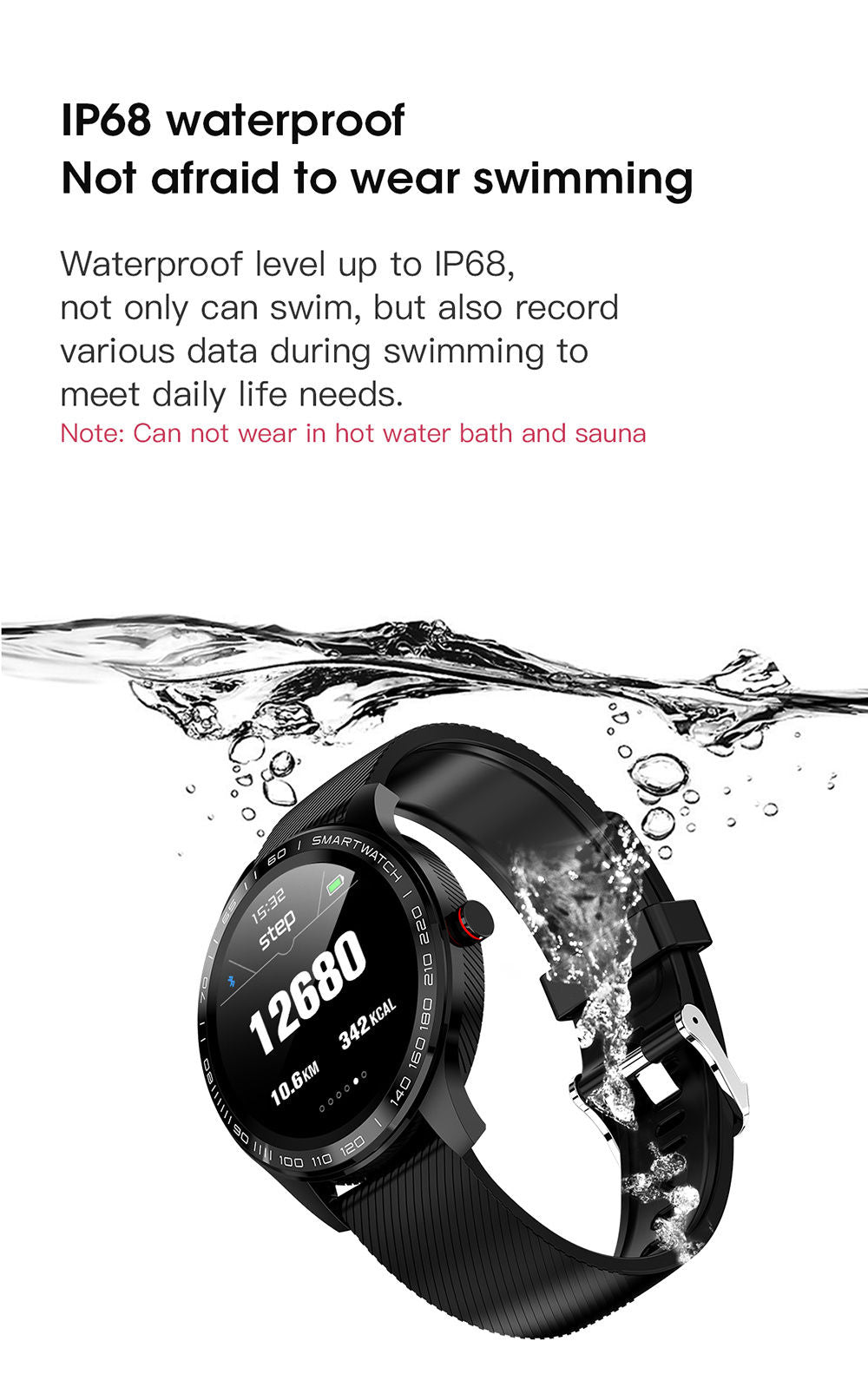 detailed description of L9 smart watch 6