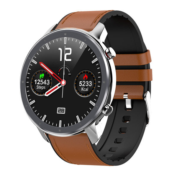 L11 Smart Watch silver leather
