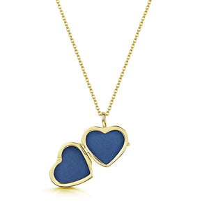 Little Gold Heart Locket