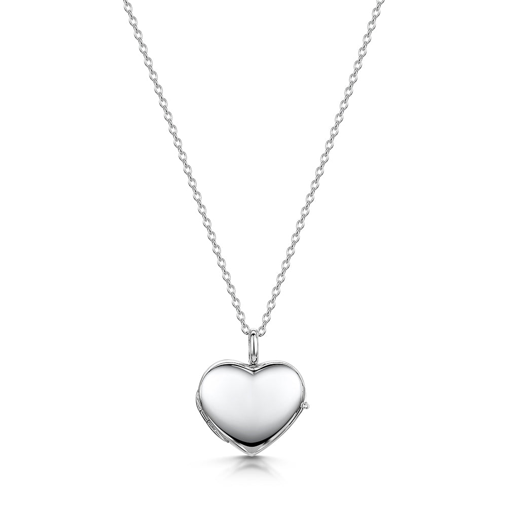 Little Silver Heart Locket