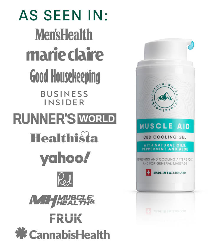 Muscle Aid – CBD Cooling Gel
