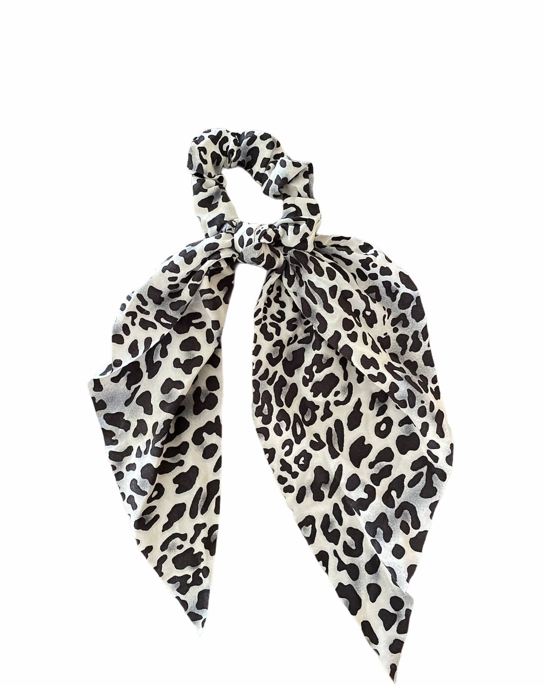 Black & White Scarf Scrunchie's