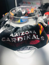 Load image into Gallery viewer, Repurposed Cardinal Football Scrunchie