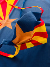 "Load image into Gallery viewer, The ""Original"" ARIZONA FLAG TIE MASK"