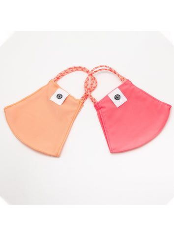 POM MASK 2 PACK PEACHY CRAZY