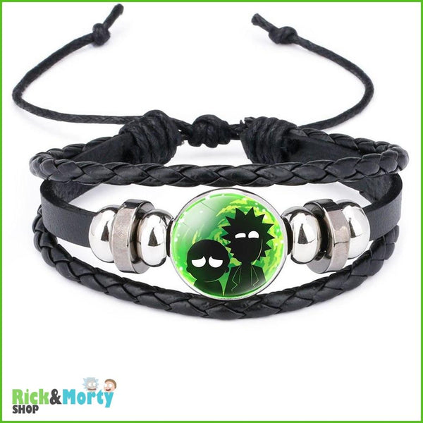 Anime Rick and Morty Bracelet Cosplay Accessories Jewelry Leather Cartoon Bracelet Armband Gift Fairy Tail Handwear Fr Women Man - 10 - 4