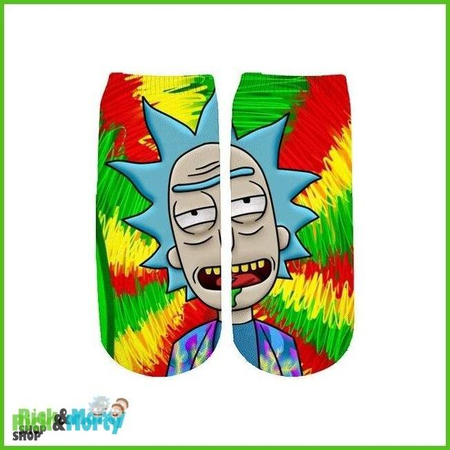 Chaussette Rick et Morty <br> Drogue - 1