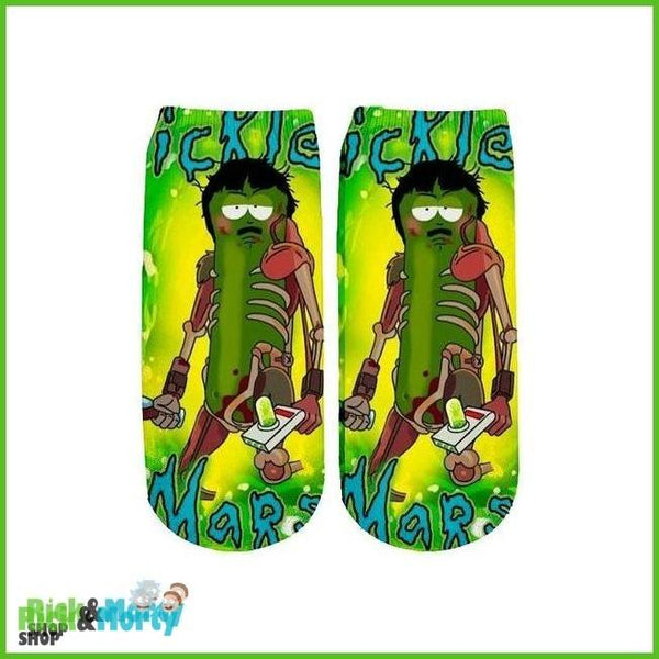 Chaussette Rick et Morty <br> Pickle Rick - 1