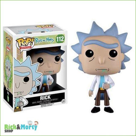 Figurine POP Rick et Morty <br> Rick - 2