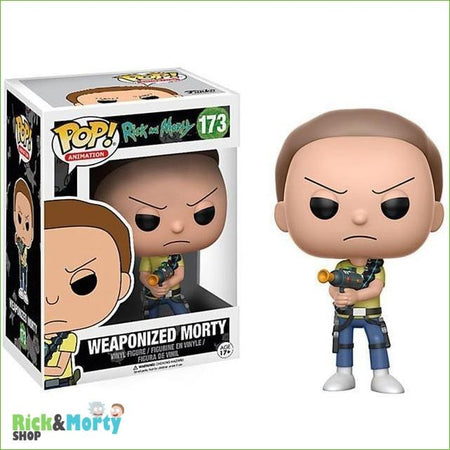 Figurine POP Rick et Morty <br> Evil Morty - 2