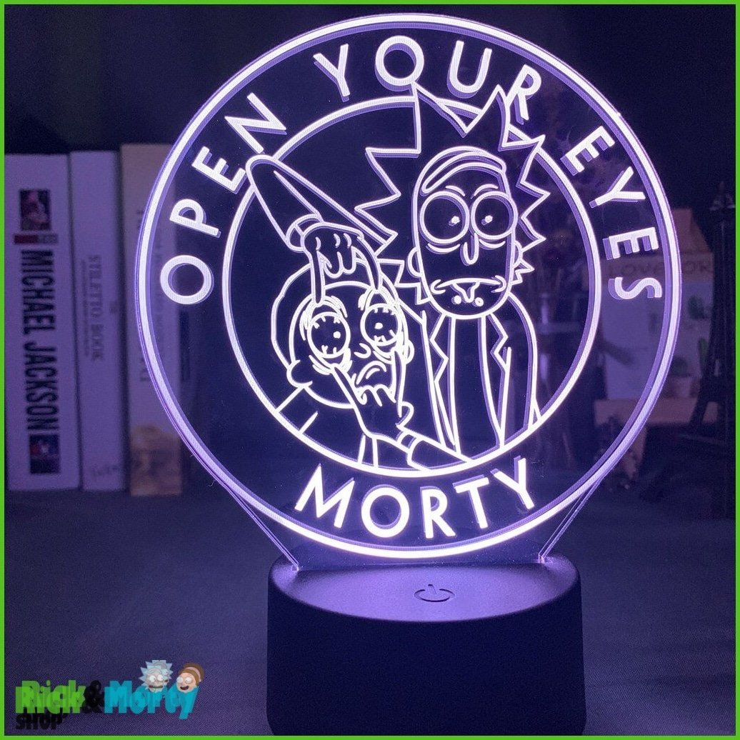 Lampe Rick et Morty <br> Open your eyes - 1