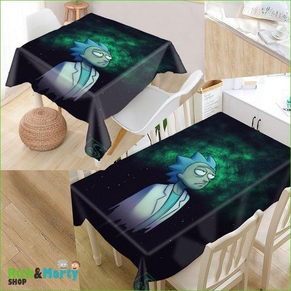 Nappe Rick et Morty <br> - tablecloth 6 / 140x140cm - 9