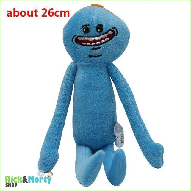 Peluche Rick et Morty <br> Mr Meeseeks - 1