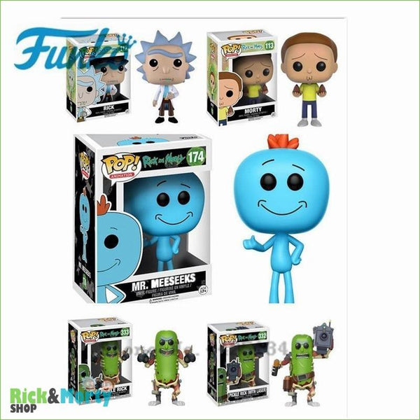 Porte-clé POP Rick et Morty <br> - 1
