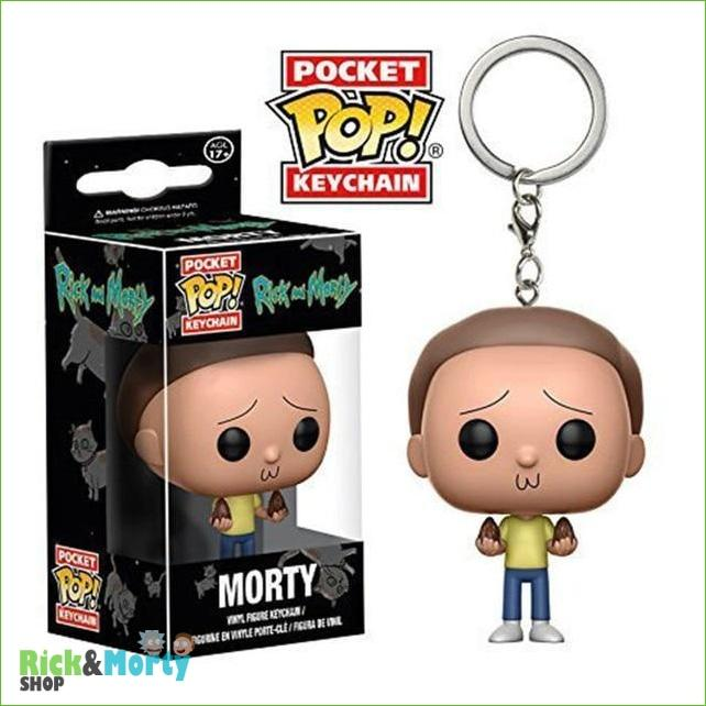 Porte-clé POP Rick et Morty <br> - With box 7 - 13
