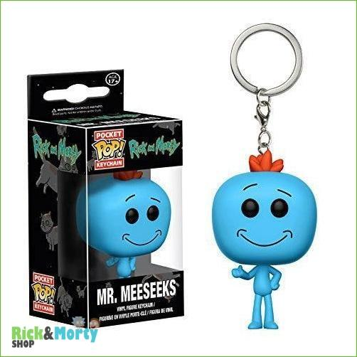 Porte-clé POP Rick et Morty <br> - With box 8 - 4