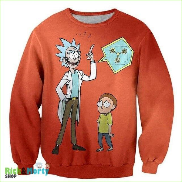 Pull Rick et Morty <br> Eurêka - 4XL - 1