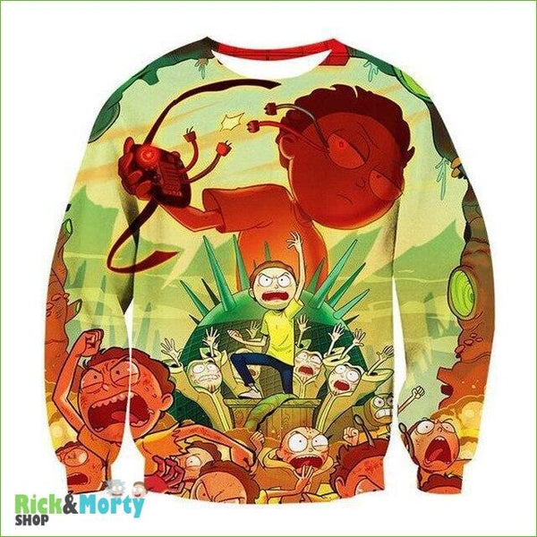 Pull Rick et Morty <br> Psychopathe - 13