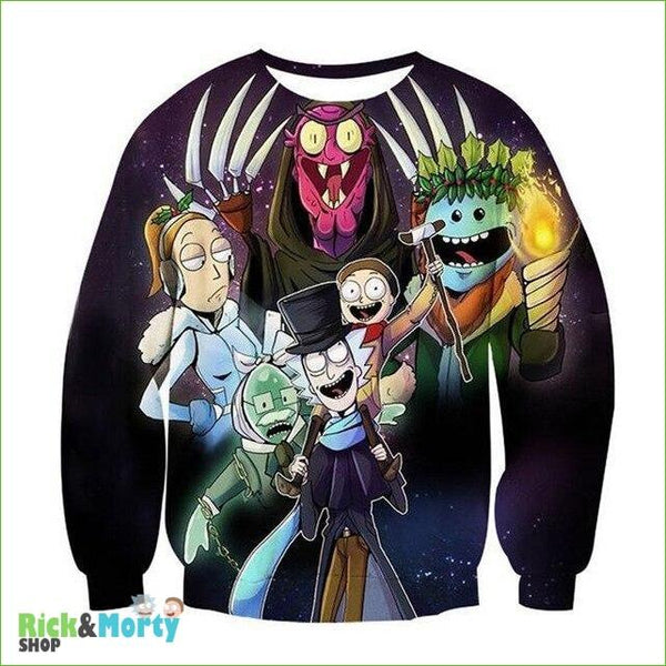 Pull Rick et Morty <br> Psychopathe - 10