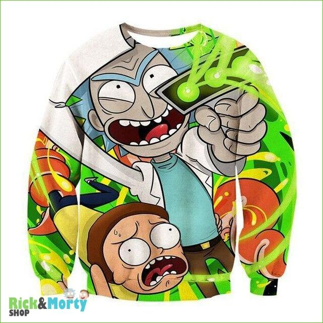 Pull Rick et Morty <br> Psychopathe - L - 5