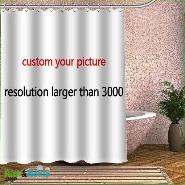 Rideau de douche <br> - Shower Curtain / 60x72inch - 4