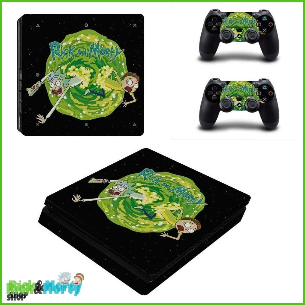 Stickers PS4 Slim <br> Portail - 1