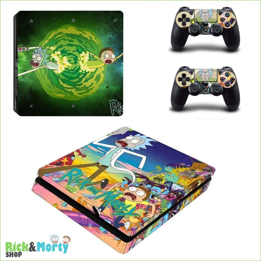 Stickers PS4 Slim <br> - YSP4S-2772 - 3