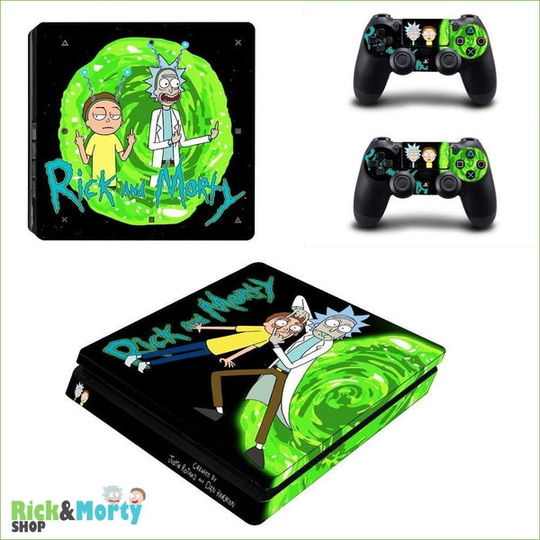 Stickers PS4 Slim <br> - YSP4S-2810 - 6