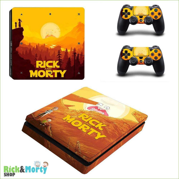 Stickers PS4 Slim <br> - YSP4S-2843 - 5