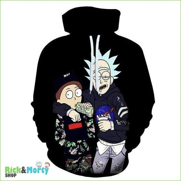 Sweat Rick et Morty <br> Gangsta - 1