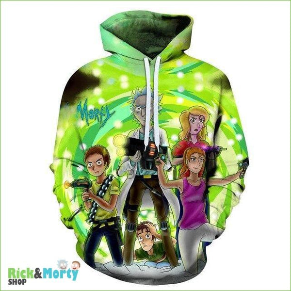 Sweat Rick et Morty <br> Ghost Buster - XS - 1