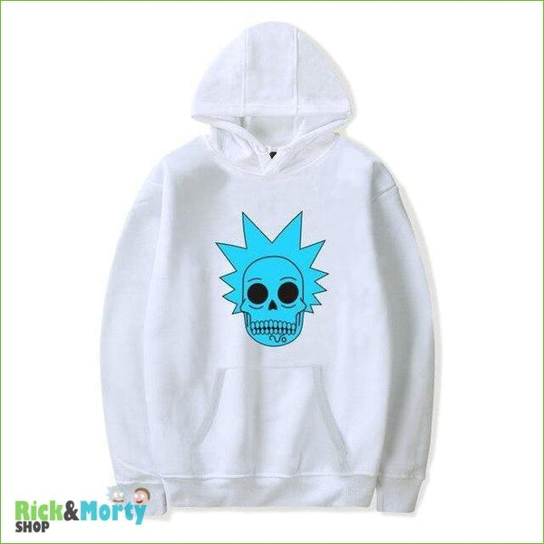 Sweat Rick et Morty <br> Skull Rick - Blanc / XXS - 1