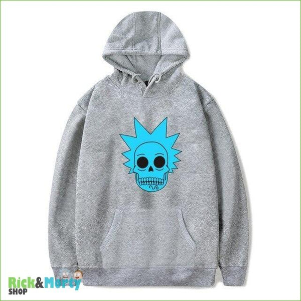 Sweat Rick et Morty <br> Skull Rick - Gris / XXS - 4