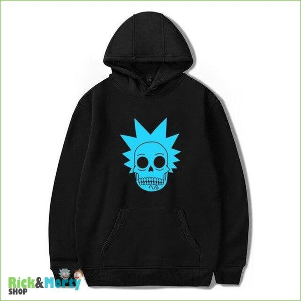 Sweat Rick et Morty <br> Skull Rick - Noir / XXS - 2