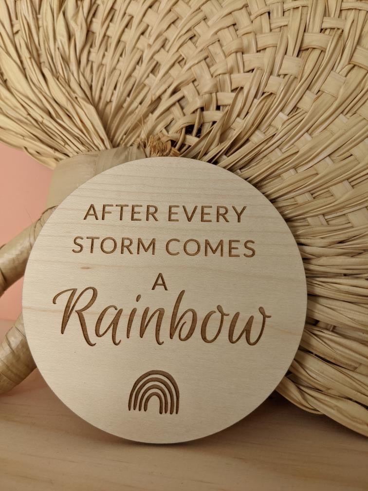 AFTER EVERY STORM PLAQUE