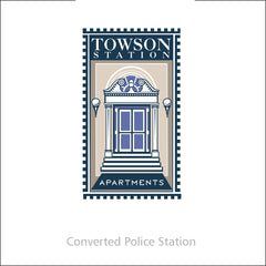 towson station Commercial Work Logo