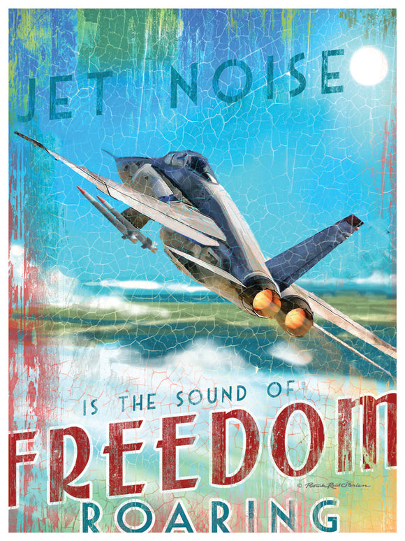 Jet Noise is the Sound of Freedom Roaring