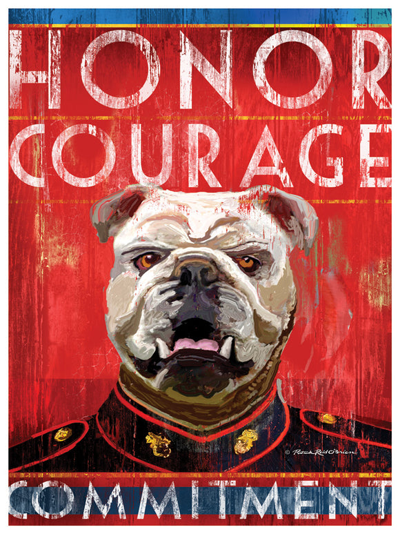 Marine (Honor, Courage and Commitment)