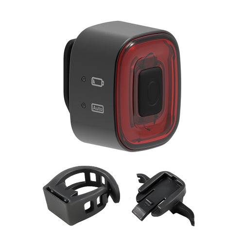 CubeLite II Bike Rear Light, Smart Brake, Auto On,  Light & Motion Detect, 30 Hours, Waterproof, Rechargeable - XOSS.CO