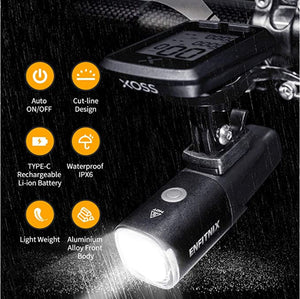 XOSS Smart Bike Light, 800 Lumens, 5 Light Modes, Water Resistant - XOSS.CO