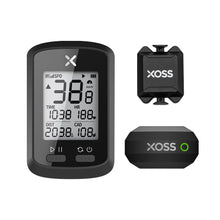 Load image into Gallery viewer, XOSS G+ GPS Bike Computer, Strava, Barometer, Cadence, Heart Rate, Bluetooth, Ant+, 25 Hours, Waterproof - XOSS.CO