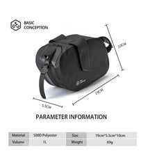 이미지를 갤러리 뷰어에 로드 , BASIC CONCEPTION Bike Rear Bag Accessories Pouch Under Seat - XOSS.CO