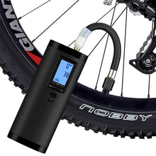 Laden Sie das Bild in den Galerie-Viewer, XOSS Electric Air Pump Rechargeable DC7.4 Volt Cycle 100PSI Portable Intelligent Interface for Bicycle Motorcycle Car Ball AP2 - XOSS.CO