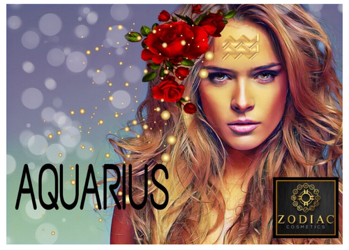 Aquarius Makeup Palette | Zodiac Cosmetics